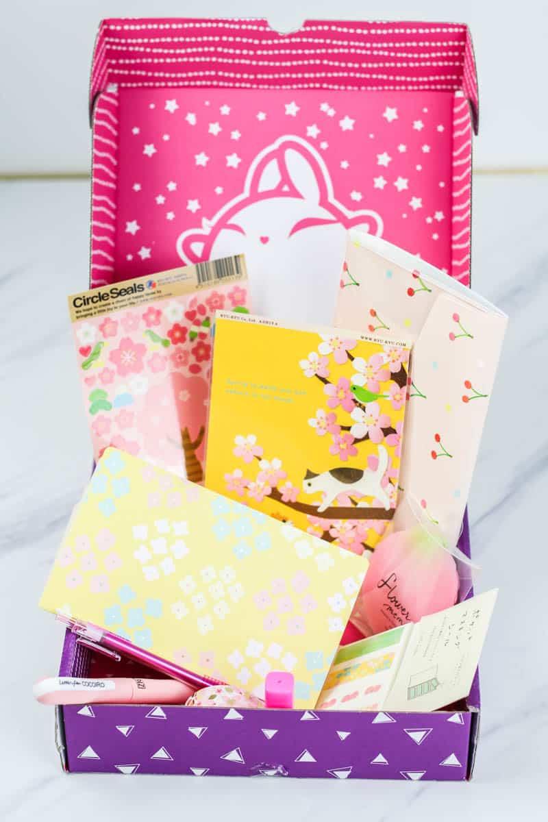 zenpop stationery box review