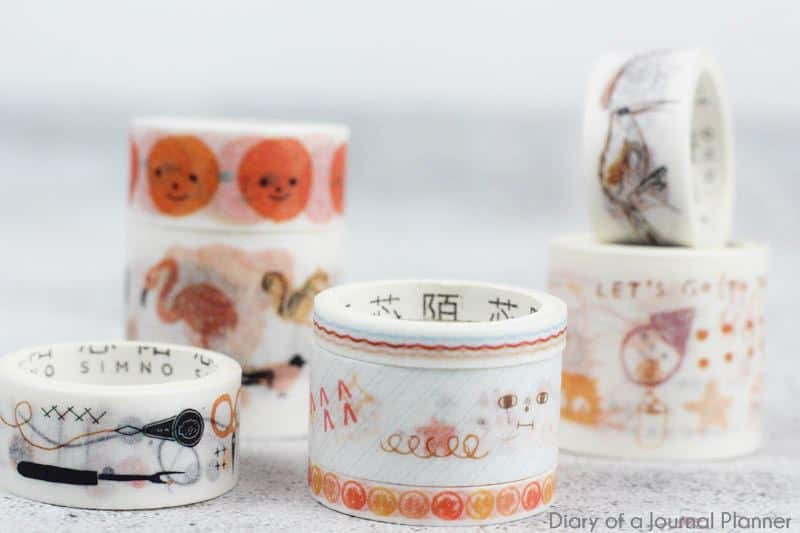 harvest washi tape