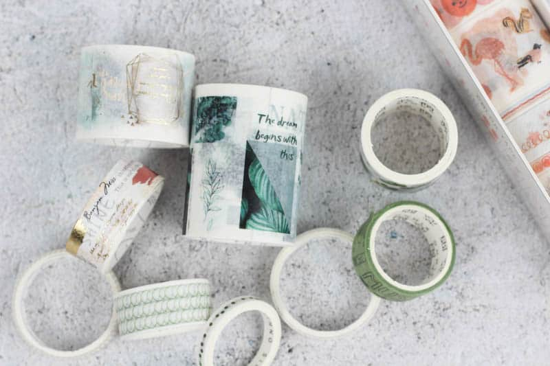 Where to find unique washi tape online