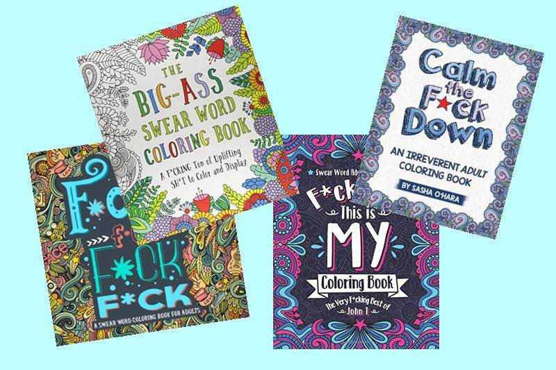 Best 11 Swear Word Coloring Books For Adults To Relax And Laugh