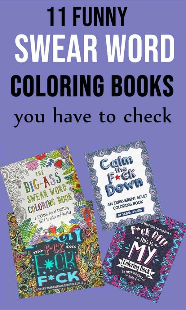 Swear word coloring pages