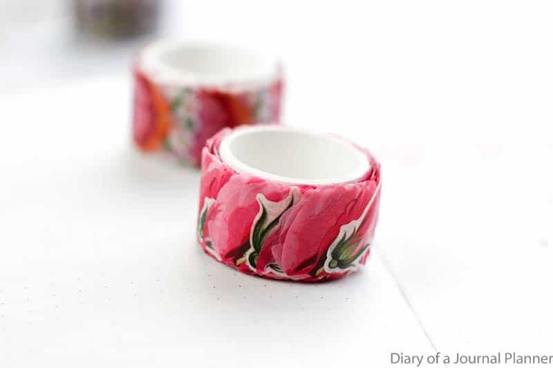 washi petal roll
