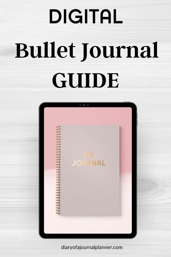 How to start with digital bullet journal