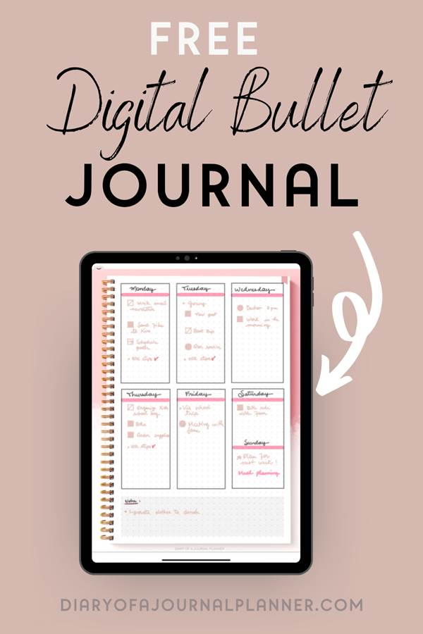 How to start digital bullet journaling