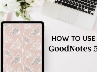 How to use goodnotes for digital planning